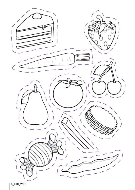 healthy and unhealthy foods worksheet teaching