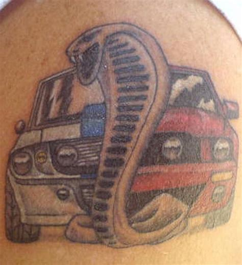 car related tattoos snake and car tattooshunt