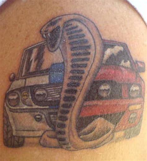 car tattoos snake and car tattoo tattooshunt com
