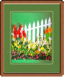Paper Flower Garden A Journey Into Quilling Paper Crafting Quilled Lanscape Picture Flower Frame The