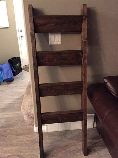 ana white quilt ladder rack diy projects