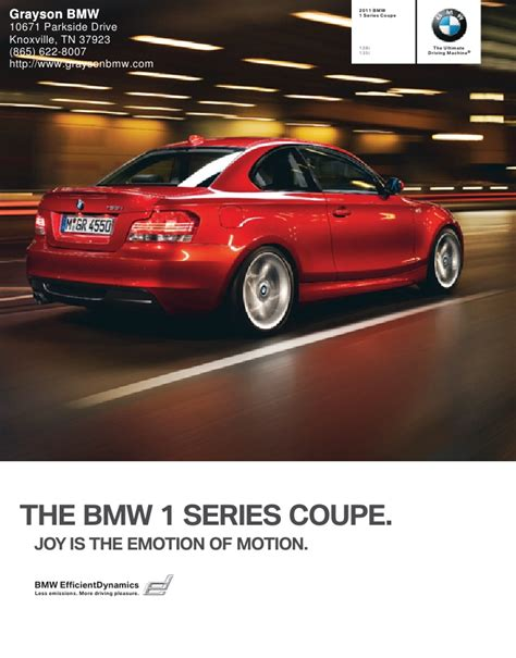 Grayson Bmw Knoxville by 2011 Bmw 1 Series Coupe Grayson Bmw Knoxville Tn