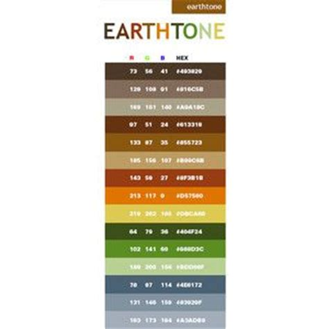 earth tone color palette pinterest earth tones combination colors and earth on pinterest