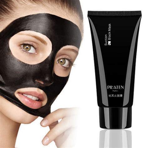 Iroha Black Peel Detox Mask by Pilaten Blackhead Remover Cleansing Purifying Peel