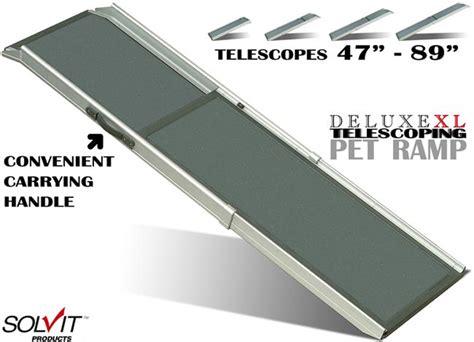 solvit deluxe xl telescoping ramp