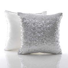 silver cushions bedroom new sequinned leaf cushion love pillows cushions