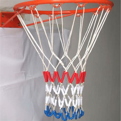 White Mini Basketball Nets Glow In View