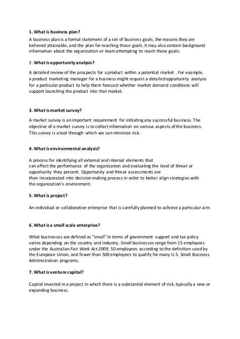 Mba Goals Essay Entrepreneurship by Entrepreneurship Question And Answer