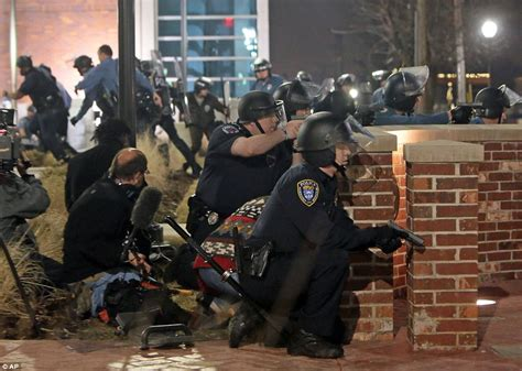 cop shoots ferguson house swarmed by swat team who pinpoint attic in search for gunman daily