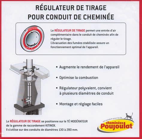reducteur de cheminee reducteur de tirage cheminee tubage inox