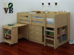 ultimo sleep station mid sleeper in oak with storage desk