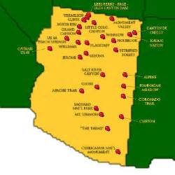 map of arizona tourist attractions takemytrip state map arizona attractions western