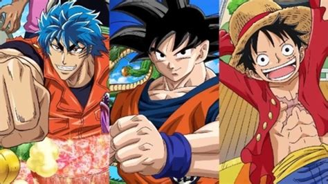 goku and luffy vs toriko goku vs luffy vs toriko one piece 590 crossover nerd