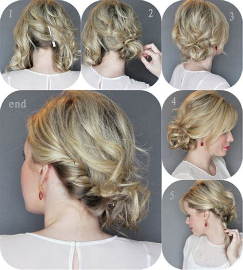 side swipe updo hairstyles roll with it 4 gorgeous rolled up hairstyles health