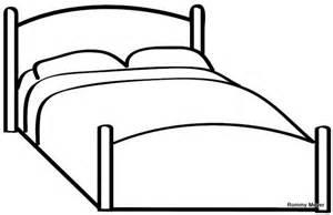 Bed Coloring Page Ir A La Cama Para Colorear Ni 241 Os Imagui