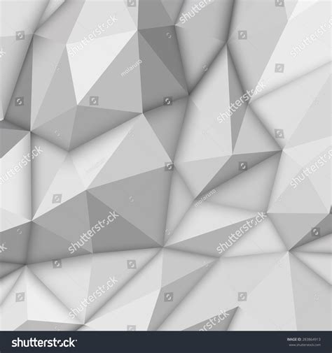 White Low Poly white abstract lowpoly polygonal triangular mosaic stock