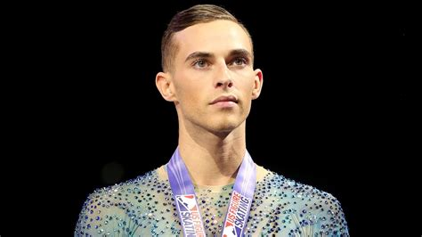g ay gay olympic skater adam rippon isn t happy with the choice