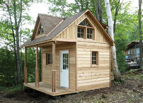 buy a tiny house kit cabana village kits