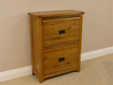 shoe storage oak solid rustic oak shoe cupboard storage in rustic oak