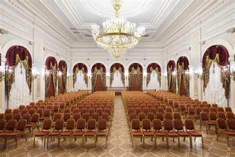 meeting hall banquet hall in st petersburg ballroom for banquetes
