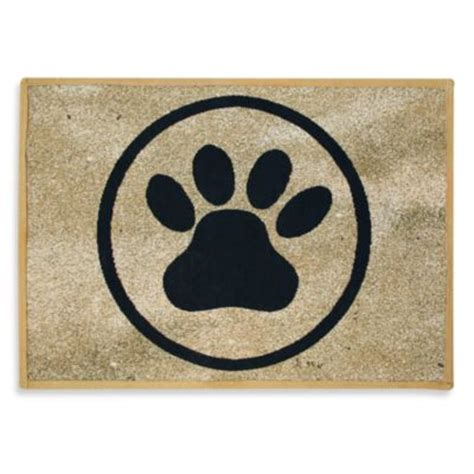 paw print rug buy paw print rug from bed bath beyond