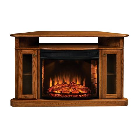 corner electric fireplace oak topeka innovative concepts 107c cozy glow electric corner
