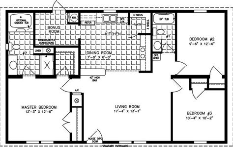 3 bedroom 1000 sq ft plan 1000 square foot 3 bedroom house plans elegant 1000 to 1199 sq ft manufactured home
