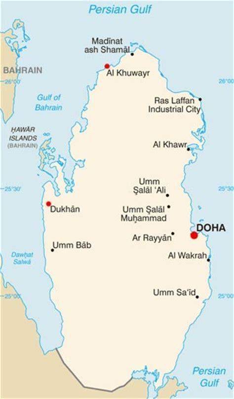 qatar latitude longitude absolute  relative locations