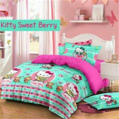 sweet berry tosca jual sprei hello jual sprei hello lucu supplier bedcover