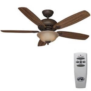 Who Makes Hton Bay Ceiling Fans Hton Bay Southwind 52 In Venetian Bronze Ceiling Fan