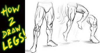 How to draw legs tutorial comic book style narrated by robert a