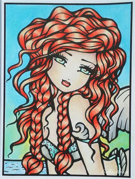 sweet simple whimsy whimsy girls 1 quot vanessa quot mon premier coloriage r 233 alis 233 dans le livre d hannah hanna lynn