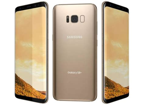 Samsung S8 Gold 3d Samsung Galaxy S8 Plus Maple Gold Cgtrader