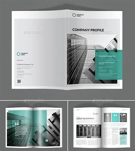 design your company profile 30 awesome company profile design templates web