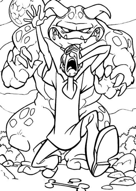 scooby doo coloring pages monsters lego scooby doo coloring pages
