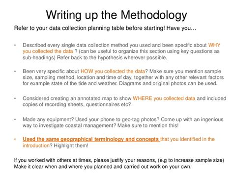 exle of methodology for research paper project methodology