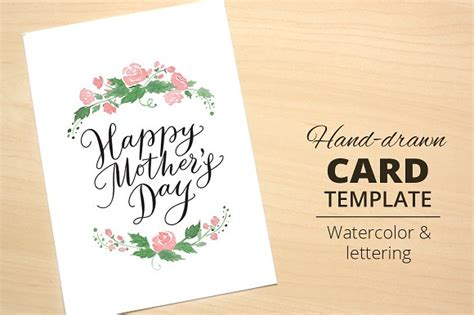 happy mothers day card template happy s day card template card templates on