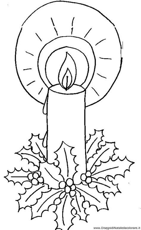 candela natalizia da colorare disegni di natale da colorare disegno candela da colorare