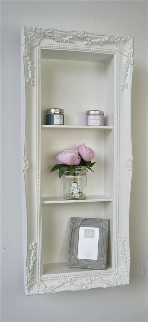 l edge shabby chic vintage frame shelf