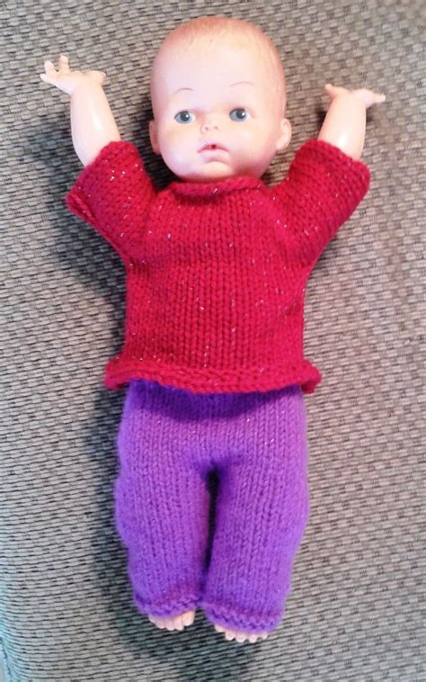 pattern knitting doll knit doll shirt free patterns knitted baby baby dolls
