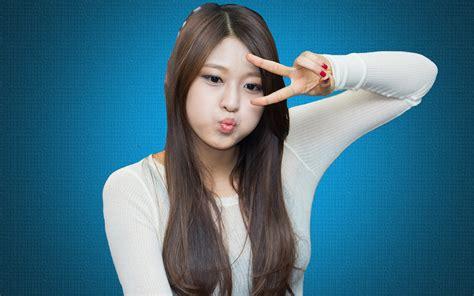 wallpaper cute korean girl cute korean girl funny expression beautiful hd wallpaper