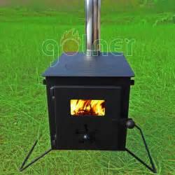 backyard wood stove c 11 outdoor cooking cing steel folding wood stove