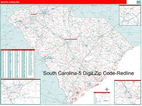 map carolina area codes south carolina zip code map from onlyglobes