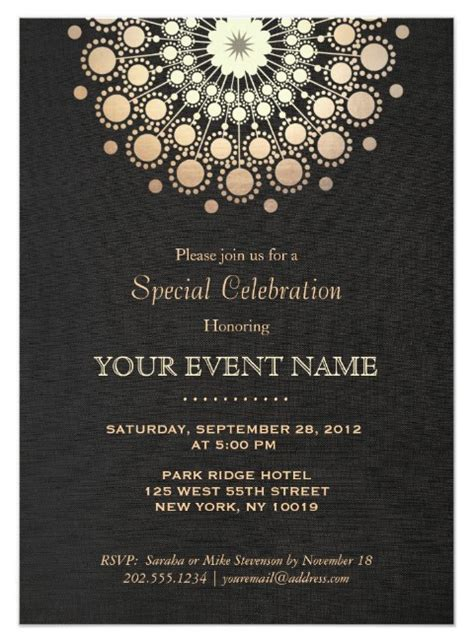 12 corporate invitation designs free premium templates
