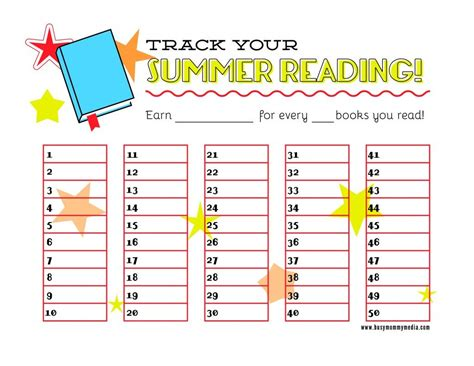 free printable reading incentive charts free printable reading chart get kids excited about