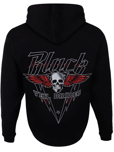 Hoodie Pullover All Time Low Pcs 1 black veil brides high voltage pullover s black bvb