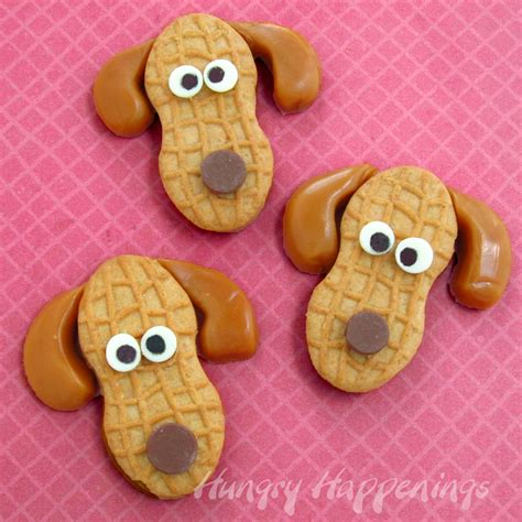 cookie crafts peanut butter puppies nutter butter cookie snacks