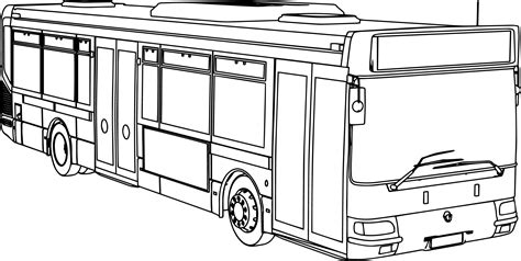 bus coloring page pdf bus coloring page free draw to color