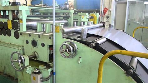 professional manufacturer of cut to length line machine