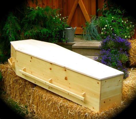 natural wood caskets handcrafted  vashon island coffin